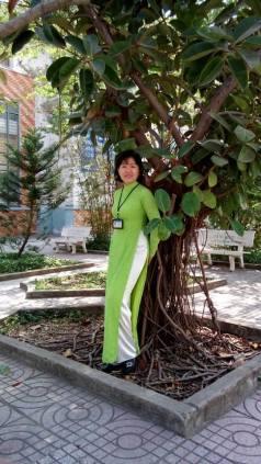 Cô giáo Võ Thị Thanh Hải. Nguồn ảnh: FB Thanh Hai