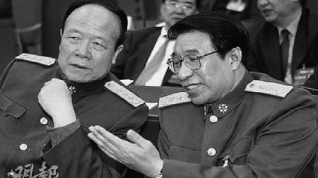 Quách Bá Hùng và Từ Tài Hậu (phải) đều là phó chủ tịch CMC và cùng bị điều tra tham nhũng (Ảnh: NDTV)