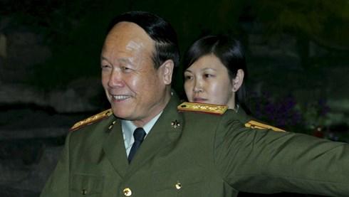 Tướng Quách Bá Hùng. Ảnh chụp tháng 10/2005 tại Bắc Kinh. (ảnh: Reuters)