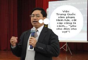 """""""Quan trí"""" Nguyễn Duy Chiến, Phó chủ nhiệm Ủy ban biên giới quốc gia"""