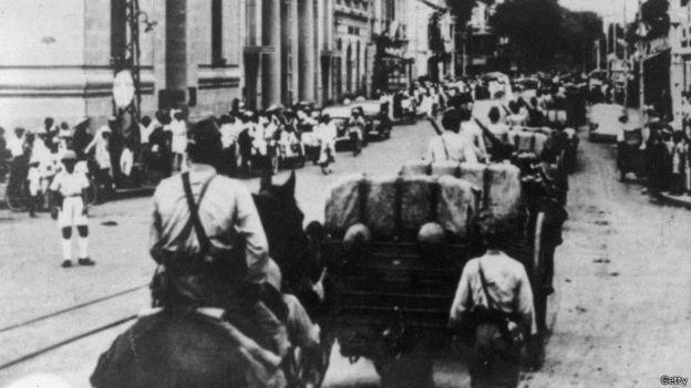 Quân Nhật vào Đông Dương tháng 9/1941