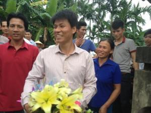 Tù nhân lương tâm Nguyễn Văn Oai. Ảnh: Công Nguyễn