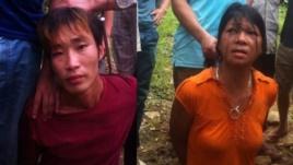 Hai nghi can vụ thảm sát ở Yên Bái