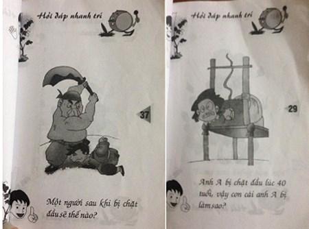 """Sách """"Hỏi đáp nhanh trí"""", do Đức Trí sưu tầm biên soạn (ảnh: Trí thức trẻ)"""