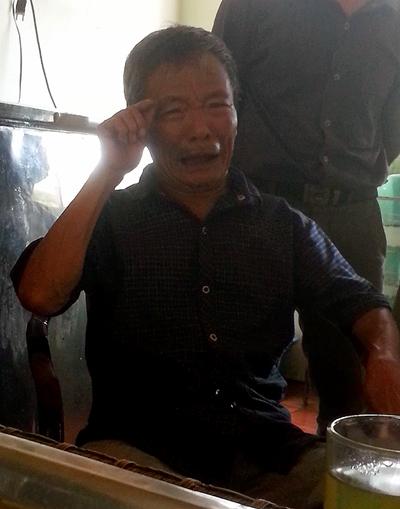 Ông Nguyễn Quảng Quy đau đớn kể về cái chết của con trai