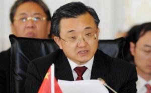 Thứ trưởng Ngoại giao Trung Quốc Lưu Chấn Dân, ảnh: Tân Hoa Xã/SCMP
