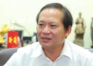 Thứ trưởng Bộ 4T Trương Minh Tuấn, người ký lệnh thu hồi thẻ nhà báo Ðỗ Hùng. (Hình: VTC)