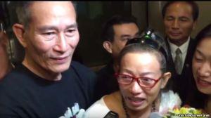 ộng đồng người Việt trong đó có blogger Điếu Cày ra đón blogger Tạ Phong Tần tại sân bay Los Angeles.