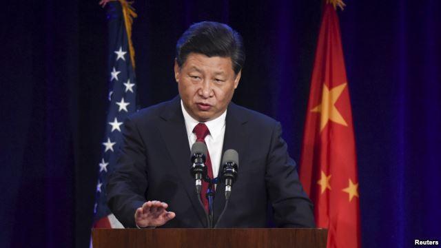 Chủ tịch Trung Quốc Tập Cận Bình phát biểu hôm thứ ba 22/9/2015 tại Seattle