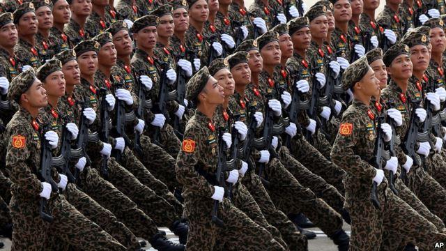 Hình ảnh lễ diễu binh ngày 2/9/2015 tại Việt Nam