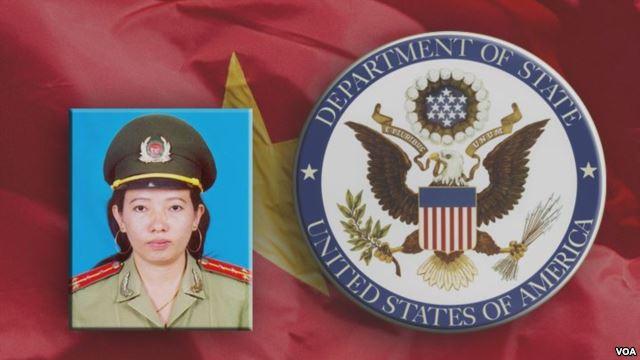 Nhà hoạt động Tạ Phong Tần là một trong hai nữ tù nhân lương tâm được Bộ Ngoại giao Mỹ vinh danh