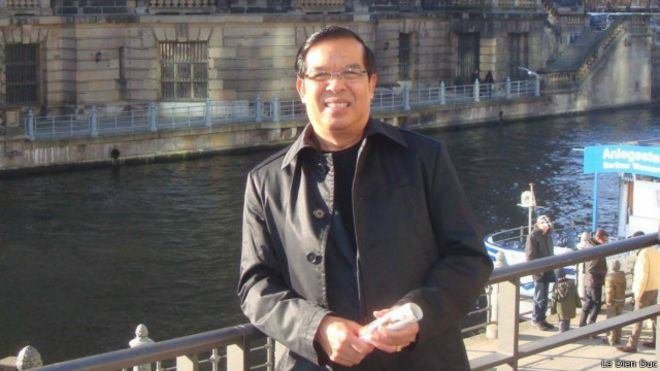 Nhà báo Lê Diễn Đức nói ông 'vẫn bình tâm' sau khi bị hủy hợp đồng