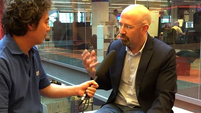 Học giả Jonathan London bình luận về hiện trạng, triển vọng của xã hội dân sự ở VN cũng như thái độ của nhà nước với nó. Ảnh: BBC