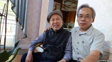 Nhà văn Võ Phiến và Nguyễn Hưng Quốc