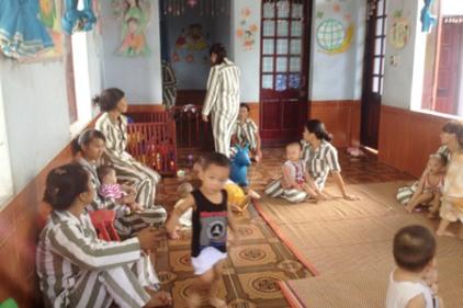 Hình minh họa: buồng giam dành cho phụ nữ có con nhỏ