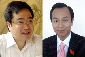 Nguyễn Thanh Nghị và Nguyễn Xuân Anh. Nguồn: Internet