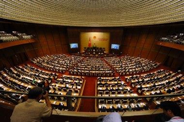 Một phiên họp của Quốc hội khóa 13 trước đây, ảnh minh họa. Photo: AFP