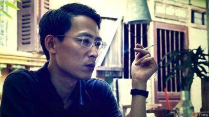 Nhà hoạt động Nguyễn Lân Thắng cáo buộc có động cơ 'chính trị' đứng sau việc ông và gia đình của ông đang bị 'khủng bố, tấn công'. Ảnh: FB Nguyen Lan Thang