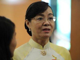 Phó bí thư Thành ủy TP.HCM Nguyễn Thị Quyết Tâm. Ảnh: báo VNN