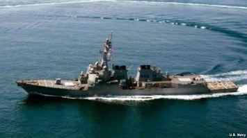 Chiến hạm trang bị tên lửa dẫn đường USS Lassen của Mỹ. Nguồn: US Navy