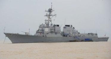 Khu trục hạm USS Lassen của hải quân Mỹ, ảnh minh họa chụp trước đây. Photo: AFP