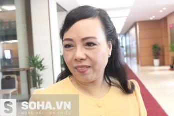 Bộ trưởng Nguyễn Thị Kim Tiến. Nguồn ảnh: Soha News.