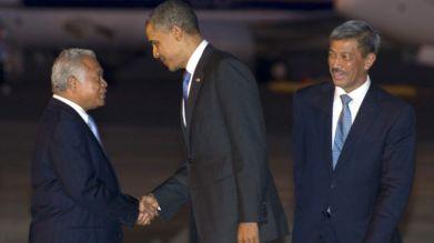 Tổng thống Obama trong chuyến thăm đến Indonesia năm 2011. Ảnh: AFP