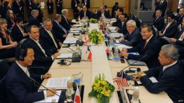 Hoa Kỳ khuyến khích Việt Nam gia nhập TPP. Photo: AFP