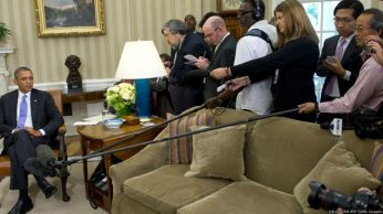 Các nguồn tin suy đoán rằng ông Obama sẽ thăm Việt Nam vào 2016. SAUL LOEB AFP Getty Images
