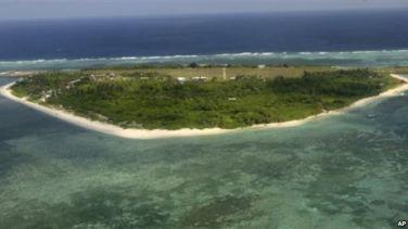 Đảo Pag-asa, thuộc quần đảo Trường Sa, nơi đang có tranh chấp chủ quyền giữa Philippines và Trung Quốc ở Biển Đông. Ảnh: AP