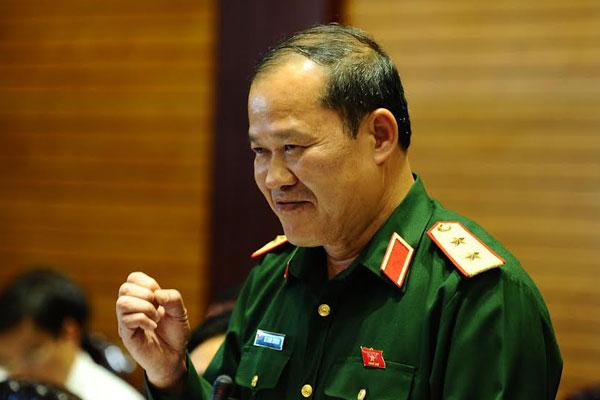 Trung tướng Bế Xuân Trường. Ảnh: Minh Thăng
