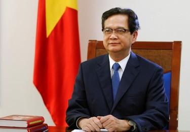 TT Nguyễn Tấn Dũng. Ảnh: báo Người Đưa Tin