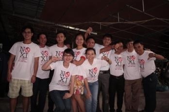 """Thông điệp """"No Xi"""" phản đối Tập Cận Bình trên FB. Nguồn ảnh: Facebook"""