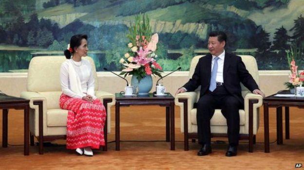 Giao lưu lãnh đạo hai đảng CSTQ và NLD tại Bắc Kinh. Photo: AP