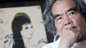 Nhà văn Hoàng Phủ Ngọc Tường (Ảnh chụp từ trang datviet.vn). Photo: Screen shot.