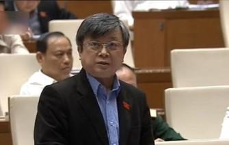 ĐB Trương Trọng Nghĩa (đoàn TP HCM) gửi câu hỏi chất vấn đến Thủ tướng sáng 17-11 - Ảnh chụp qua màn hình