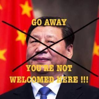 Những hình ảnh phản đối Tập Cận Bình đến VN xuất hiện rất nhiều trên mạng XH. Nguồn: internet.