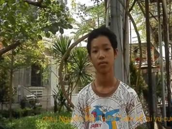 Em Nguyễn Mai Trung Tuấn. Ảnh: internet