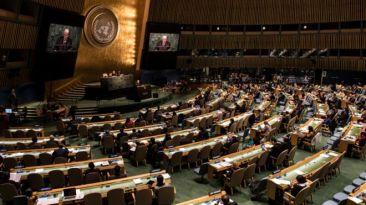 Đại hội đồng Liên Hiệp Quốc. Photo: Getty