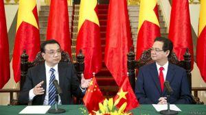 Lãnh đạo Việt - Trung trong một hội đàm. Photo: chinhphu.vn