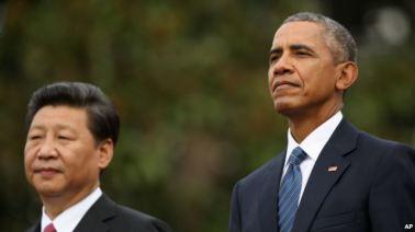 Tờ Giáo dục Việt Nam viết rằng 'chuyến thăm của ông Tập đến Việt Nam mang màu sắc nhanh chân chạy trước'. Photo: AP