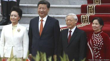 Ông Tập Cận Bình thăm Việt Nam. Photo: Nguyen Huy Kham/ Reuters