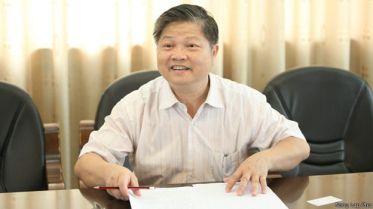 Phó Giáo sư Nông Lập Phu nói từ bé ông đọc rằng Nam Sa (Trường Sa) và Tây Sa (Hoàng Sa) là của Trung Quốc. Photo: BBC