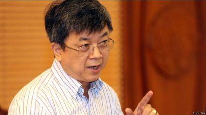 Dân biểu Nghĩa từng cảnh báo không để lệ thuộc vào Trung Quốc về kinh tế. Photo: Báo Tuổi Trẻ