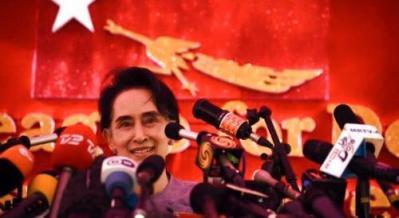 Bà Aung San Suu Kyi. Nguồn: internet