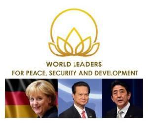 Nhờ ông Tuấn mà ông Dũng có được cơ hội vinh danh chung với bà thủ tướng Đức và ông thủ tướng Nhật? Nguồn ảnh: Boston Global Forum