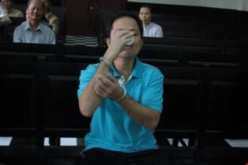 Võ Văn Minh hầu tòa. Nguồn: internet