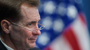Ông John Kirby - người phát ngôn bộ ngoại giao Hoa Kỳ. Ảnh: BBC