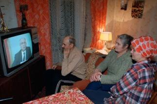 Ông Mikhail Gorbatchev tuyên bố từ chức Tổng thống Liên Xô trên truyền hình ngày 25/12/1991.