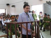 Hồ Duy Hải tại phiên tòa sơ thẩm